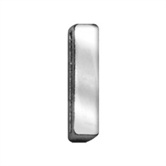 """Mirage Pet Products 3/4"""" (18mm) Chrome Letter Sliding Charms I 3/4'' (18mm)"""