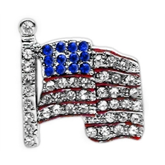 "Mirage Pet Products 3/8"" Slider Flag Charm Flag 3/8"""