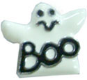 """Mirage Pet Products 3/8"""" (10mm) Halloween Slider Charms Ghost 3/8"""" (10mm)"""