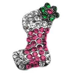 Mirage Pet Products Pink and Purple Stocking Charms Pink