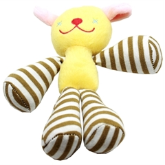 Mirage Pet Products Long Legged Love Squeaky 8'' Pet Toy Doggie