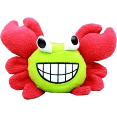 """Mirage Pet Products Crabby Little Dog 6"""" Plush Toy Red"""