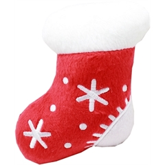 "Mirage Pet Products Squeaky Toy 4"" Stocking"