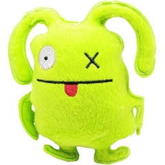 """Mirage Pet Products Squeaky Toy 5"""" Green Zombie"""