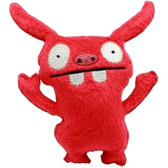 """Mirage Pet Products Squeaky Toy 5"""" Red Monster"""