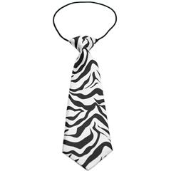 Mirage Pet Products Big Dog Neck Tie Zebra