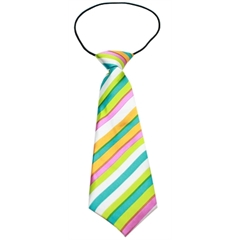 Mirage Pet Products Big Dog Neck Tie Funky Stripes
