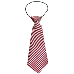 Mirage Pet Products Big Dog Neck Tie Candy Cane Stripes