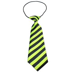 Mirage Pet Products Big Dog Neck Tie Striped Lime