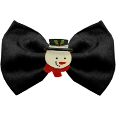 Mirage Pet Products Frosty Chipper Black Pet Bow Tie