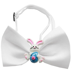 Mirage Pet Products Easter Bunny Chipper White Bow Tie