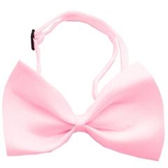 Mirage Pet Products Plain Light Pink Bow Tie