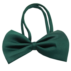 Mirage Pet Products Plain Emerald Green Bow Tie