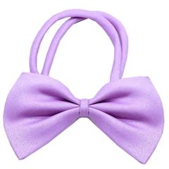 Mirage Pet Products Plain Lavender Bow Tie