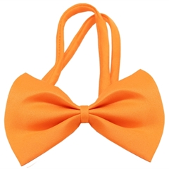Mirage Pet Products Plain Orange Bow Tie