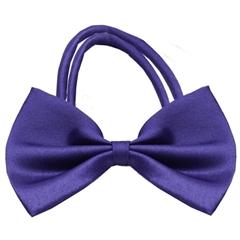 Mirage Pet Products Plain Purple Bow Tie