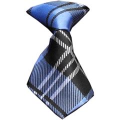 Mirage Pet Products Dog Neck Tie Plaid Blue