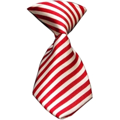 Mirage Pet Products Dog Neck Tie Candy Cane Stripes