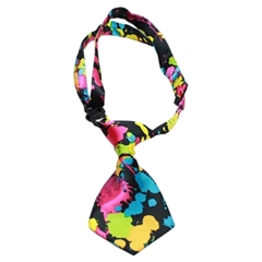 Mirage Pet Products Dog Neck Tie Splatter Paint