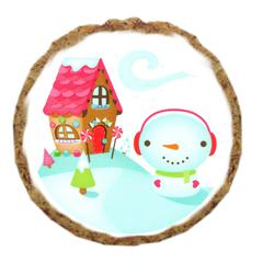 Mirage Pet Products Snowman Home Dog Treats - 6 Pack