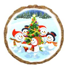 Mirage Pet Products Snowman Party Dog Treats - 6 Pack