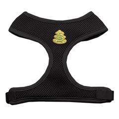Mirage Pet Products Christmas Tree Chipper Black Harness Large