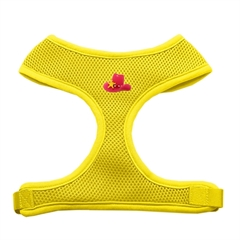 Mirage Pet Products Pink Cowboy Hat Chipper Yellow Harness Large