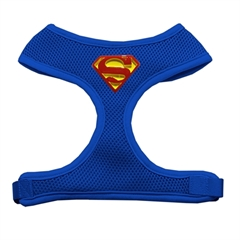 Mirage Pet Products Traditional Super Chipper Blue Harness Medium