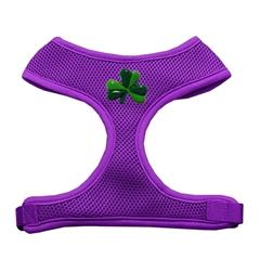 Mirage Pet Products Shamrock Chipper Purple Harness Large
