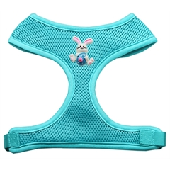Mirage Pet Products Easter Bunny Chipper Aqua Harness Large