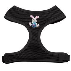 Mirage Pet Products Easter Bunny Chipper Black Harness Large