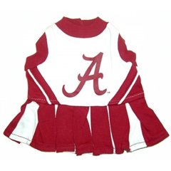 Mirage Pet Products Alabama Crimson Tide Cheer Leading SM
