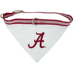 Mirage Pet Products Alabama Crimson Tide Bandana Medium