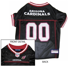 Mirage Pet Products Arizona Cardinals Jersey Small