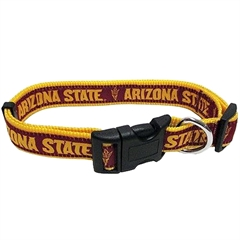 Mirage Pet Products Arizona State University Sun Devils Collar Small