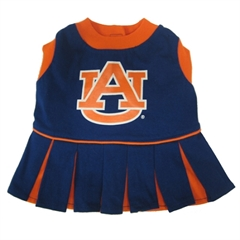 Mirage Pet Products Auburn Tigers Cheer Leading XS