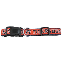 Mirage Pet Products Auburn Tigers Collar Large