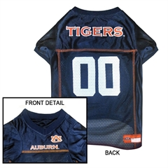 Mirage Pet Products Auburn Tigers Jersey Medium