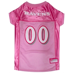 Mirage Pet Products Baltimore Ravens Pink Jersey MD