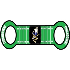 Mirage Pet Products Baltimore Ravens Field Tug Toy