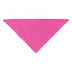 Mirage Pet Products Plain Bandana Bright Pink Small