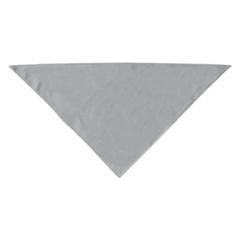 Mirage Pet Products Plain Bandana Grey Large