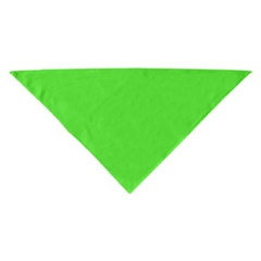 Mirage Pet Products Plain Bandana Lime Green Small