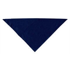 Mirage Pet Products Plain Bandana Navy Blue large