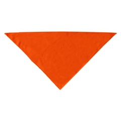 Mirage Pet Products Plain Bandana Orange Small