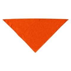 Mirage Pet Products Plain Bandana Orange Large