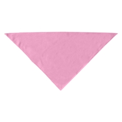 Mirage Pet Products Plain Bandana Light Pink Small