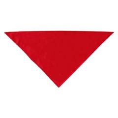 Mirage Pet Products Plain Bandana Red Small