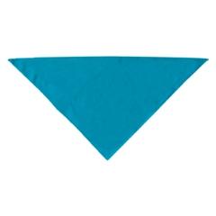 Mirage Pet Products Plain Bandana Turquoise Large