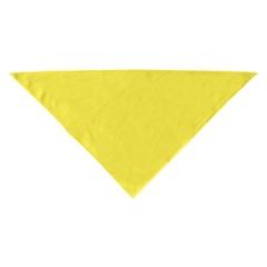 Mirage Pet Products Plain Bandana Yellow Large